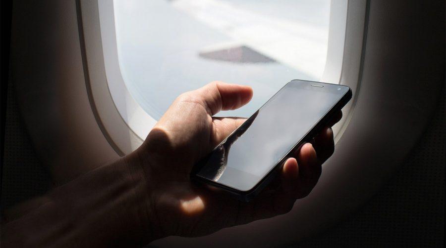 Электронные устройства в самолете