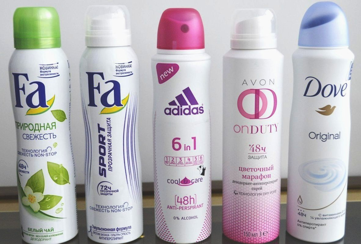 Можно ли брать дезодорант спрей