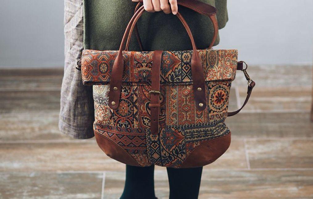 Взять сумку определенного размера
