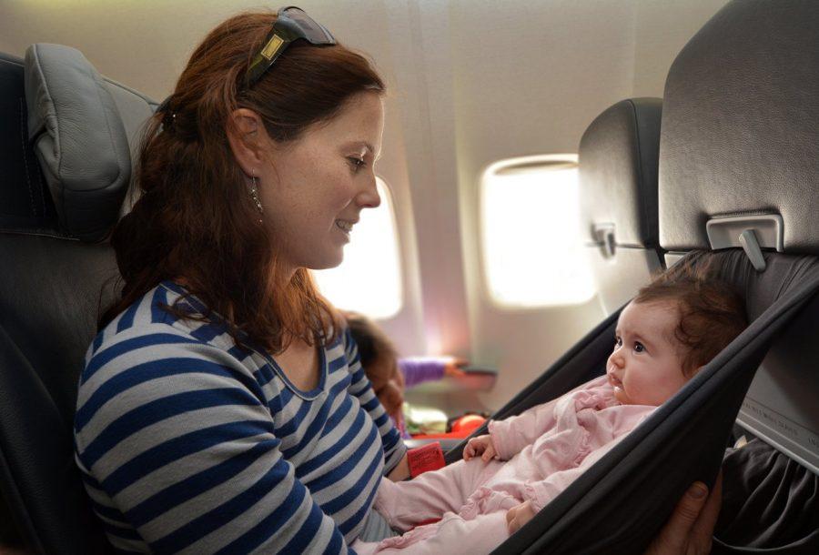 Летать с новорожденным в самолете