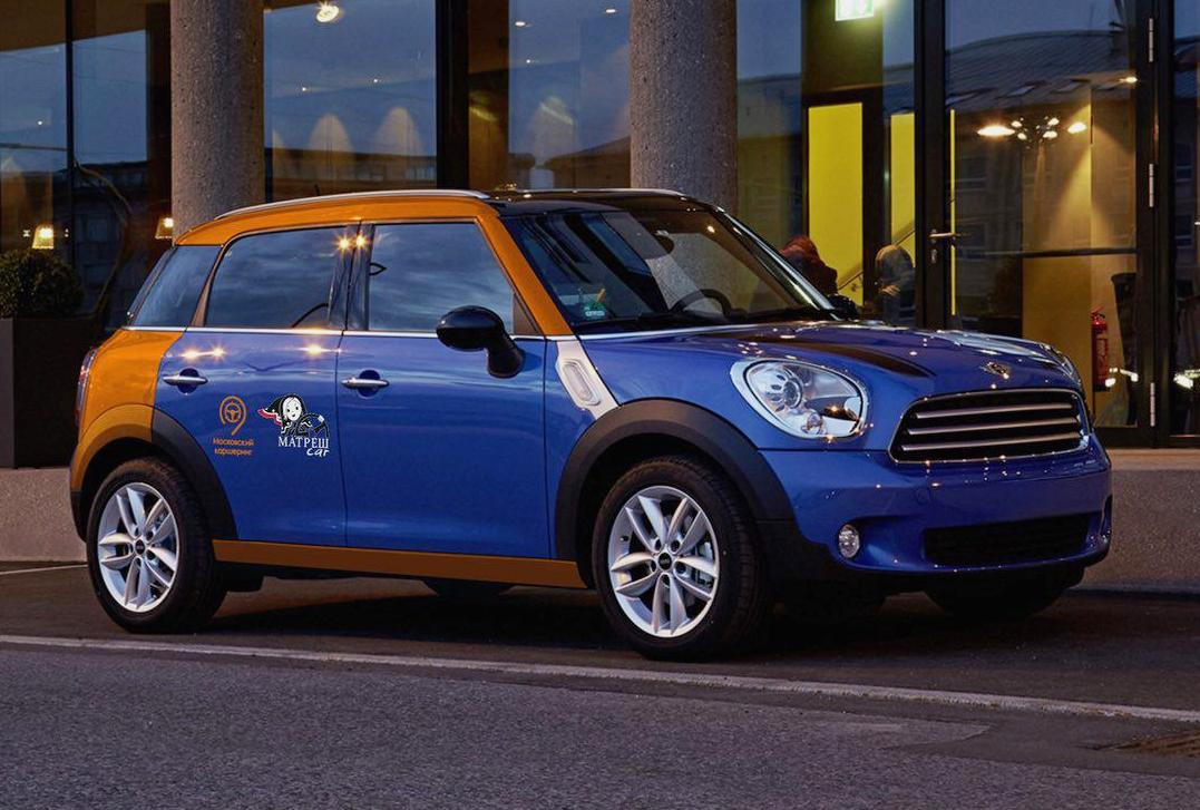 Mini Cooper Countryman каршеринг