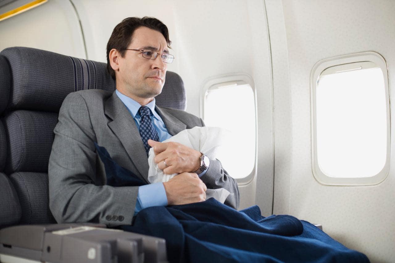 Бояться летать на самолете