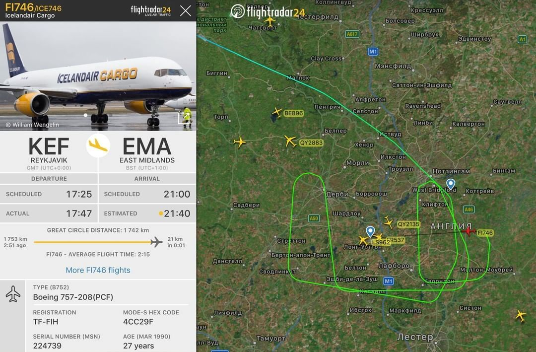 Сайт Флайтрадар24 для просмотра местонахождения самолета