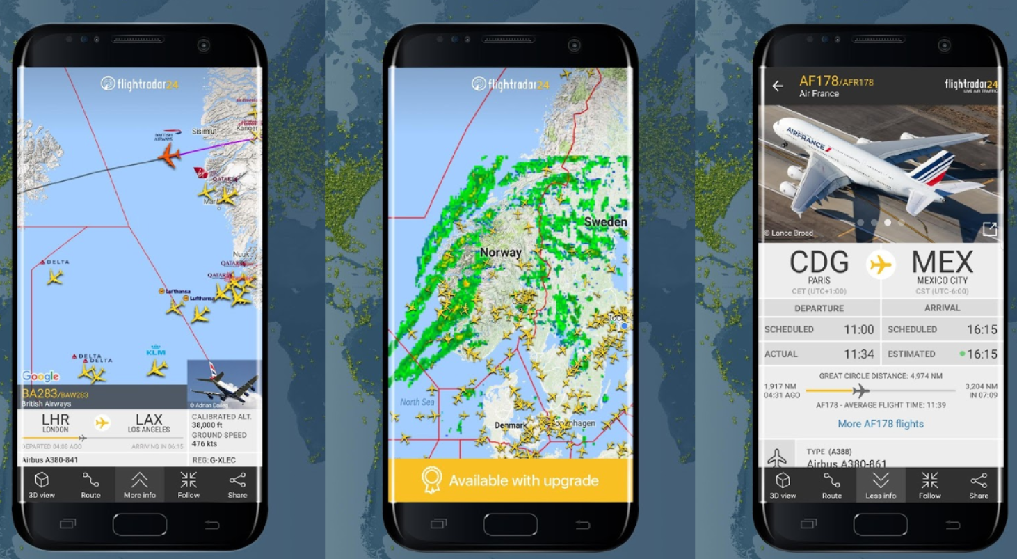 Приложение Flight Tracker