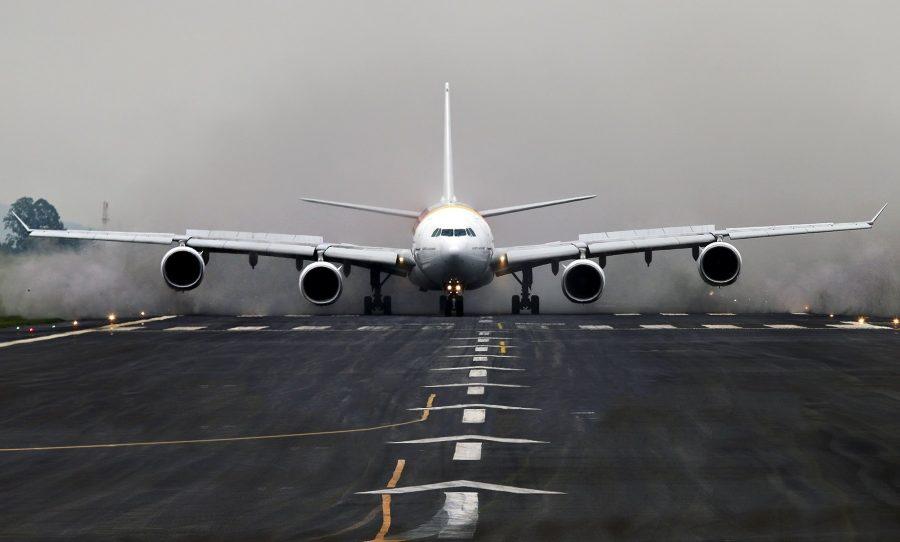 Скорость самолета при взлете