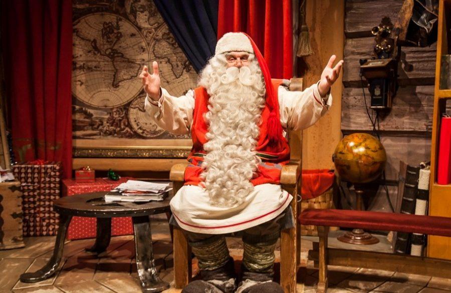 Дом Санта Клауса в Лапландии (Финляндия)