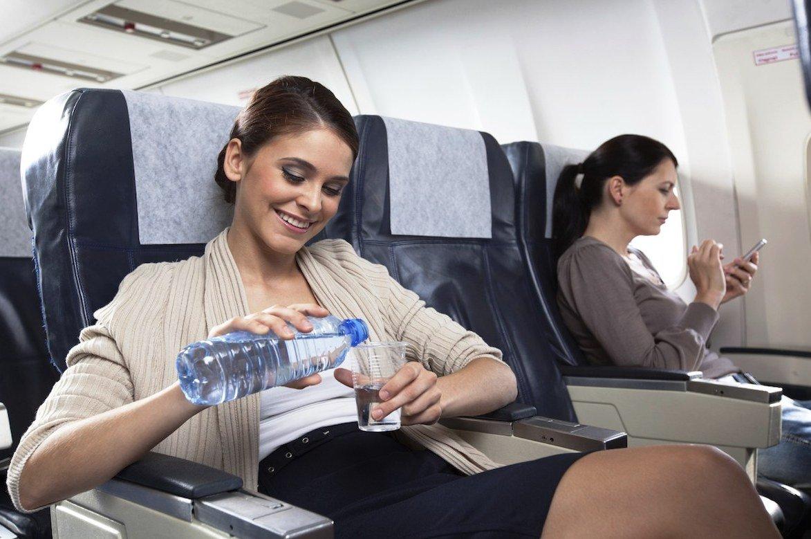Полет в самолете без вреда