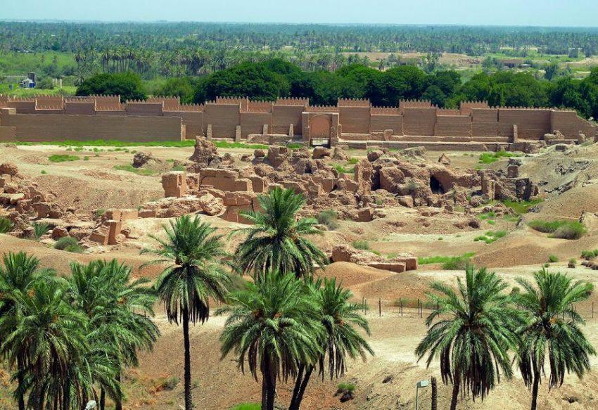 Разрушенный Вавилон в Ираке