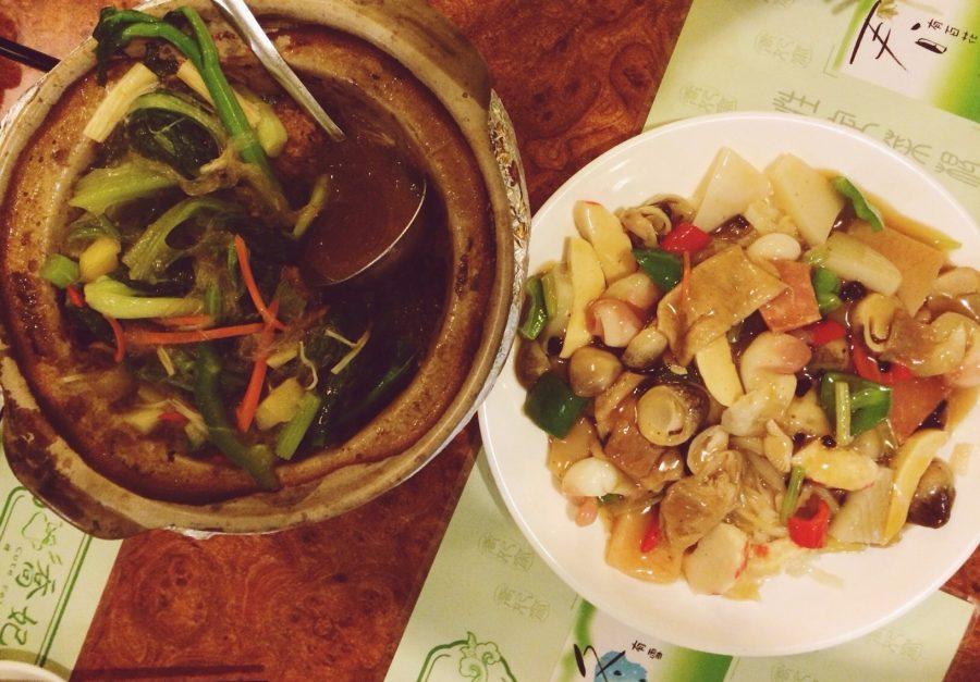 Вегетарианство и отдых в Китае