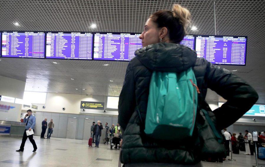 Отмена рейса на самолет в аэропорту