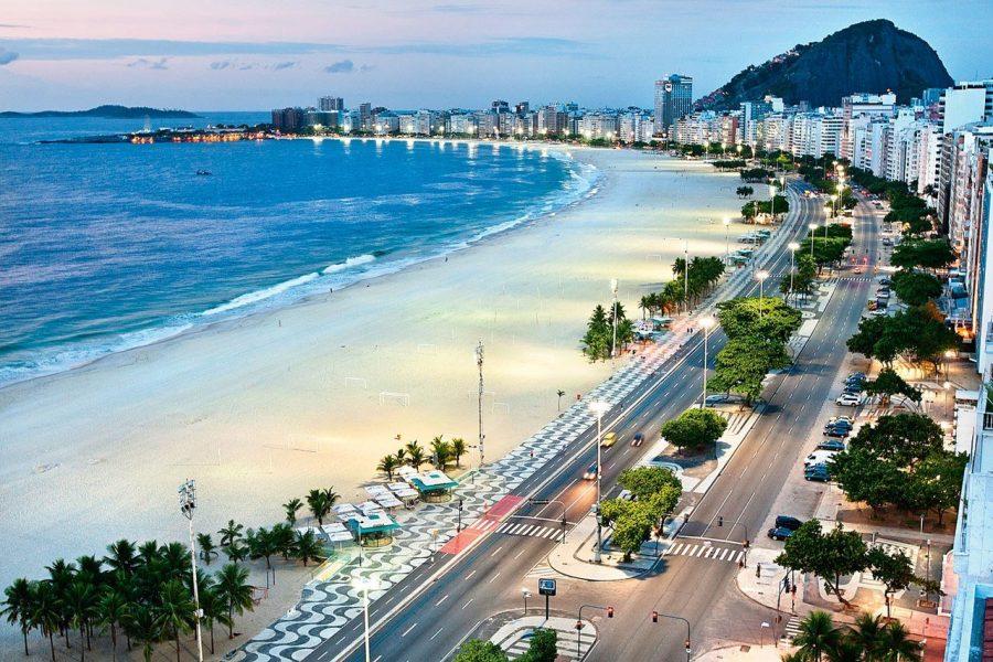 Пляж в городе Рио-де-Жанейро
