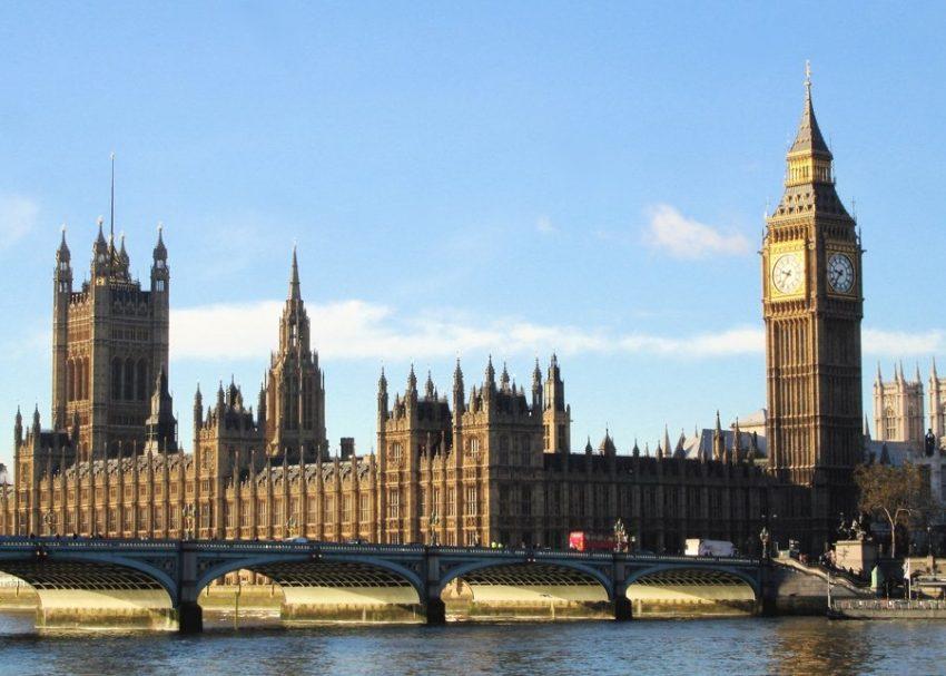 Популярный город Лондон и Биг Бен