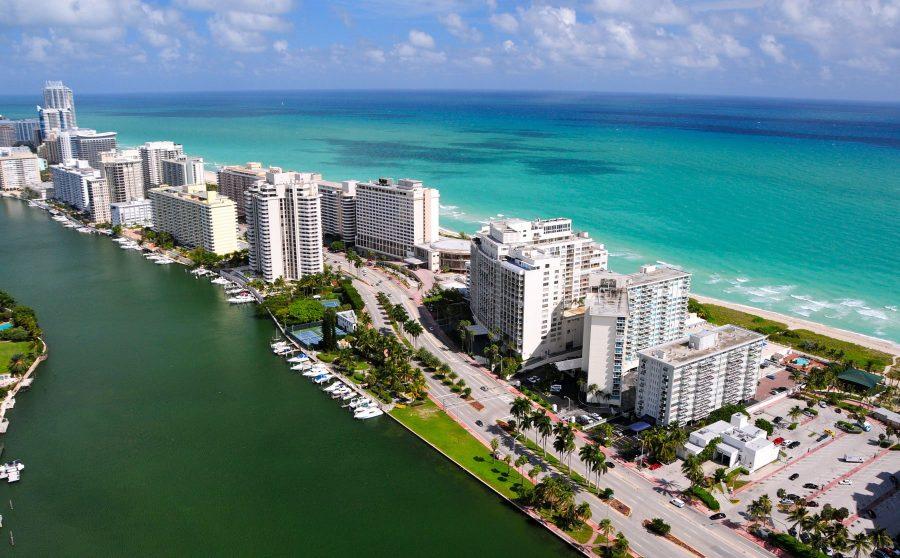 Отдых знаменитостей в Майами