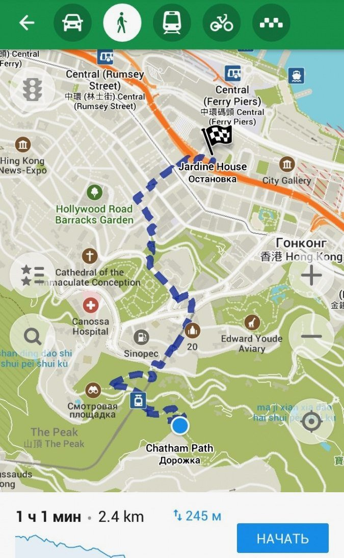 Приложение Maps.me – карты