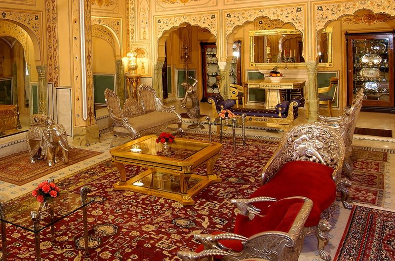 Дорогой отель Raj Palace, Индия