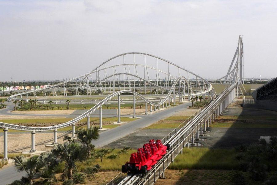 Аттракцион Formula Rossa в Абу-Даби