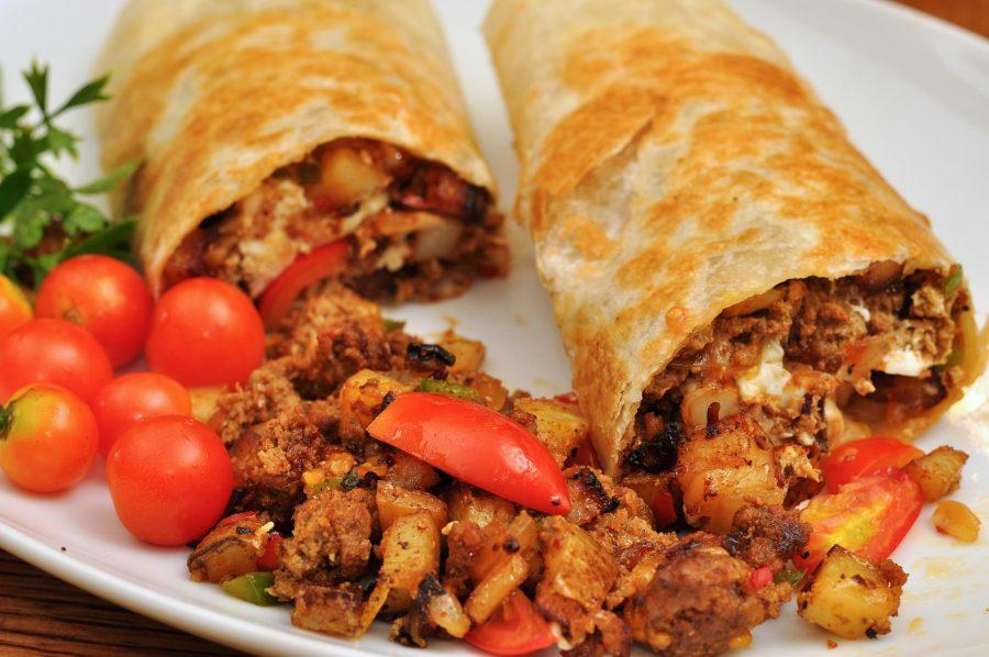 Бурито мексиканское блюдо