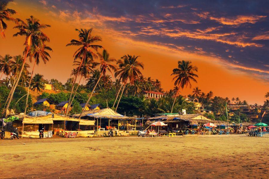 Индия для отдыха в зимний период