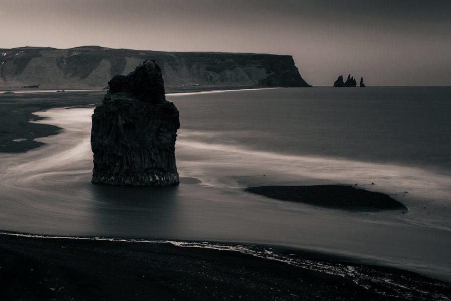 Черный пляж Вик, Исландия