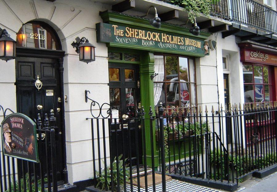 Дом Шерлока Холмса в Англии