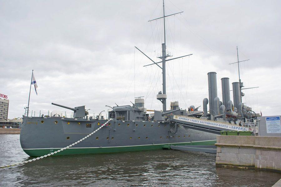Крейсер «Аврора» в России