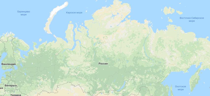 Россия самая крупная страна по масштабам