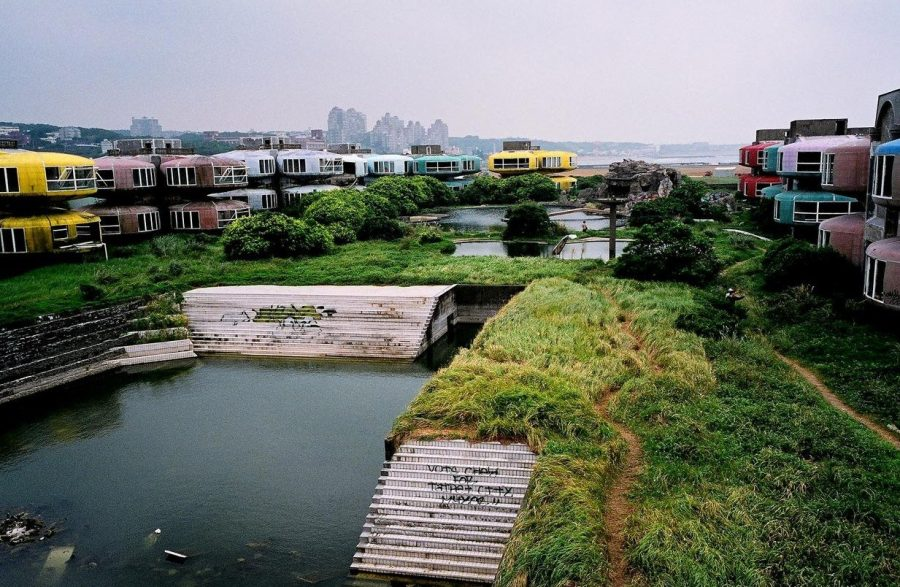 Заброшенный город Сан Жи, Тайвань