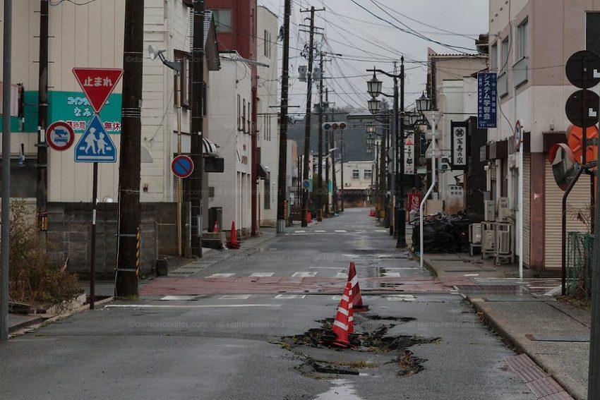 Заброшенный город Намиэ, Япония