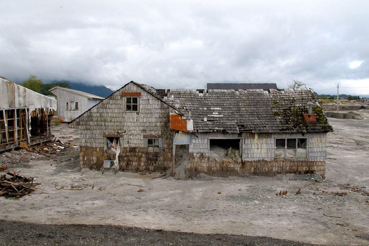Заброшенный город Чайтен, Чили