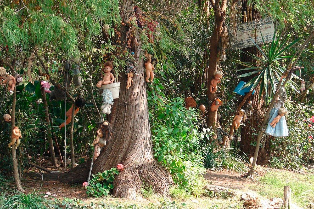 Мексиканский остров кукол