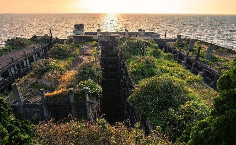 Жуткий японский остров Хасима
