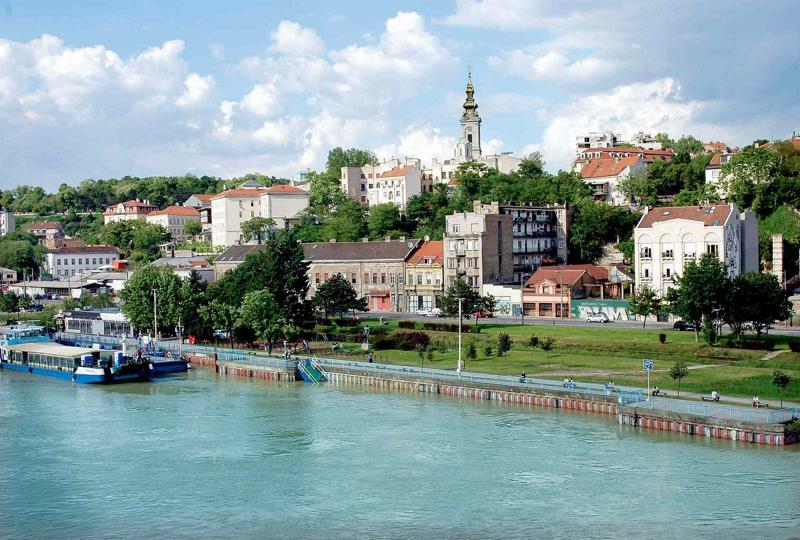 Город Белград в Сербии