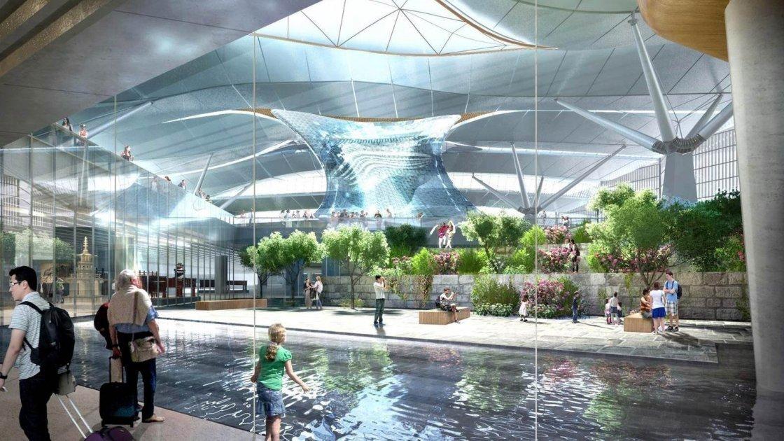 Аэропорт «Инчхон» Южная Корея