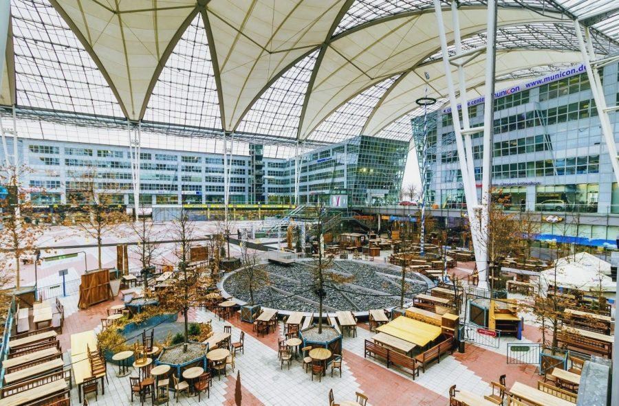 Аэропорт Мюнхена имени Йозефа Штрауса, Германия