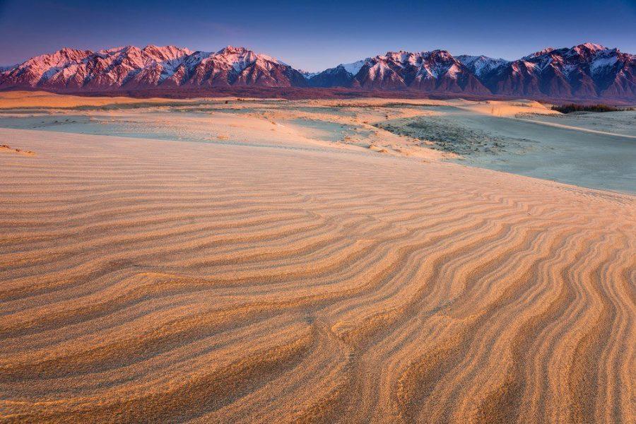 Чарские пески красивое место