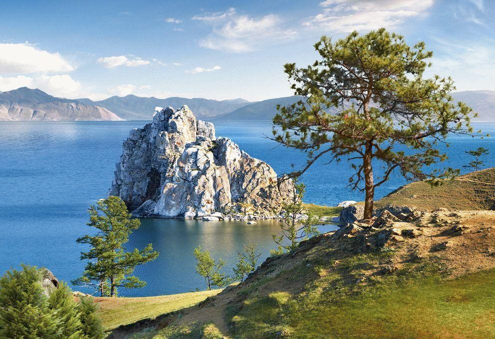 Байкал красивое место в России