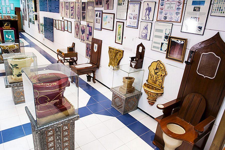 Музей туалета в индийском Дели