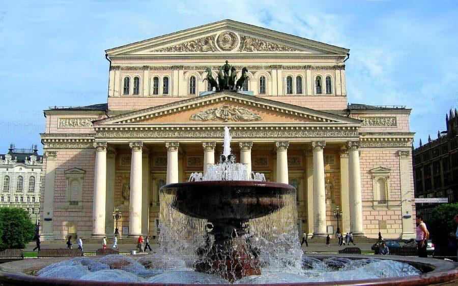 Большой театр распложенный в Москве