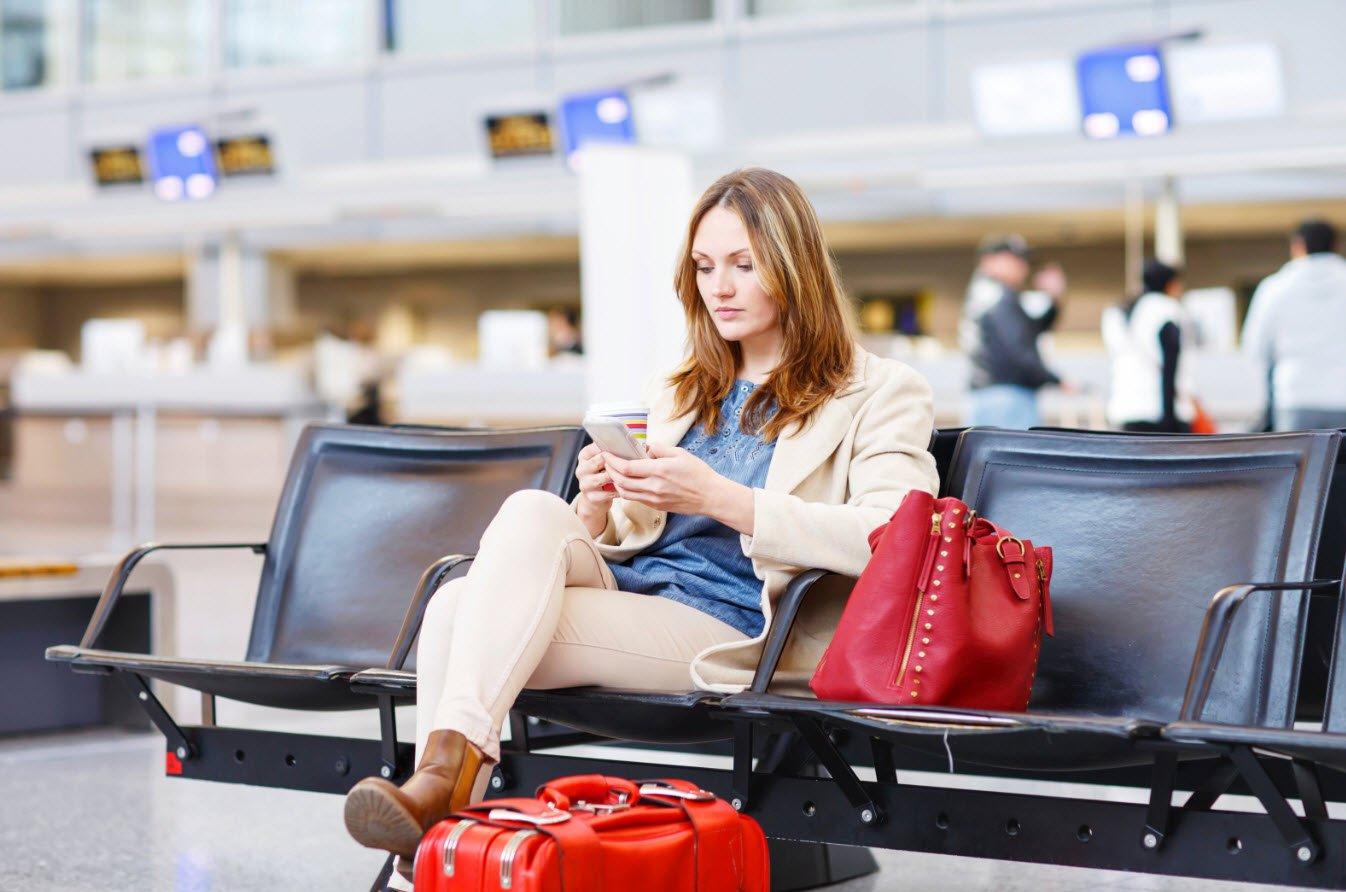 Отмена авиарейса в аэропорту