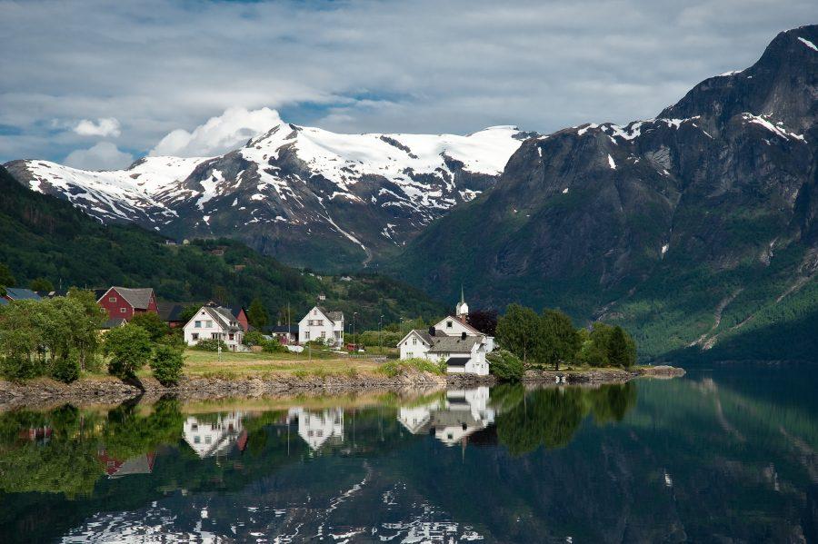 Поехать в Норвегию на автомобиле