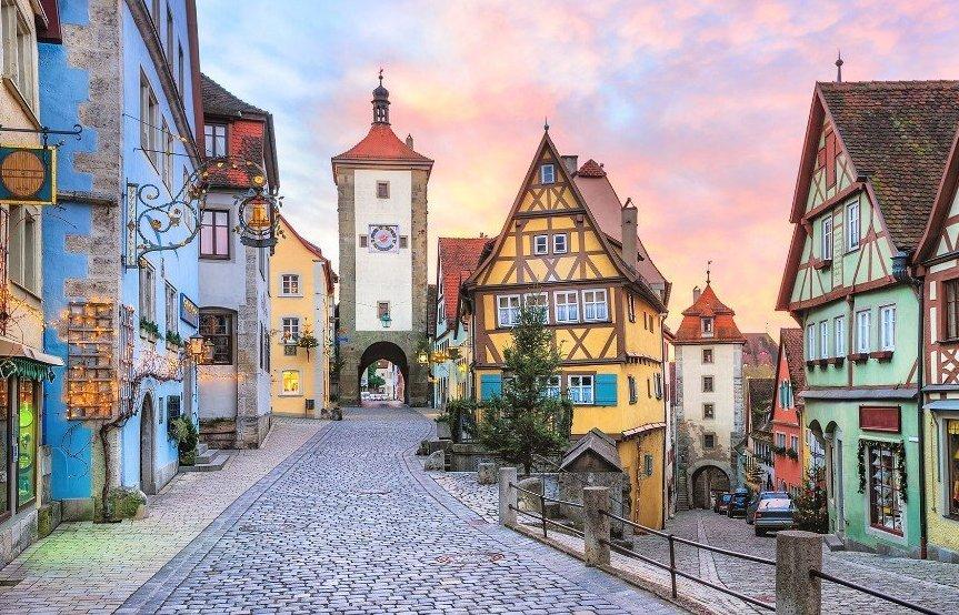 Поездка в Германию на автомобиле