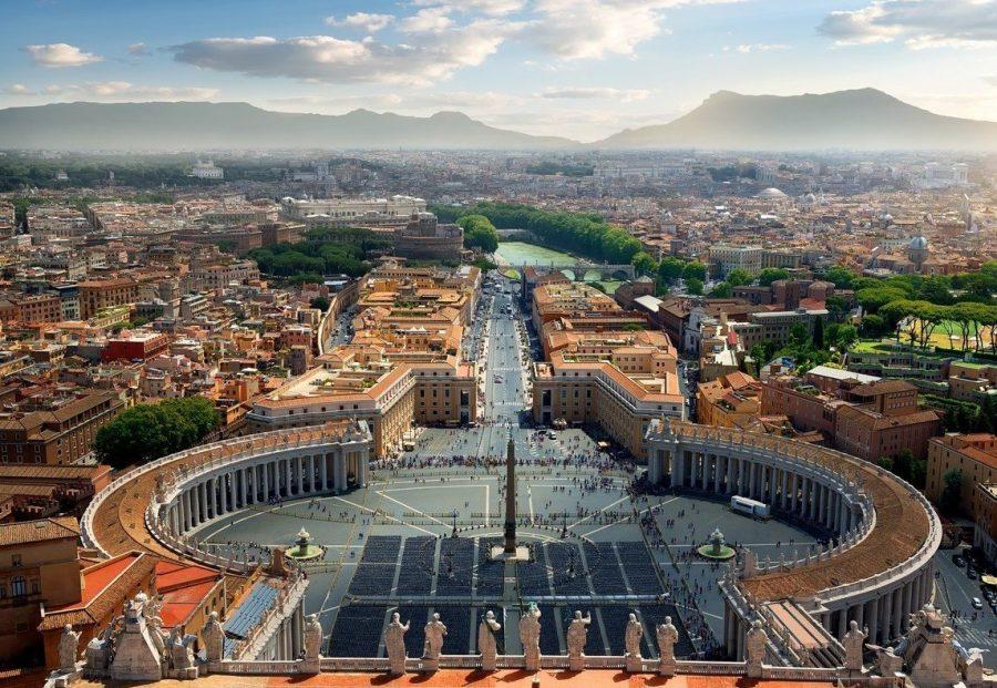 Город Рим, Италия для путешественниц