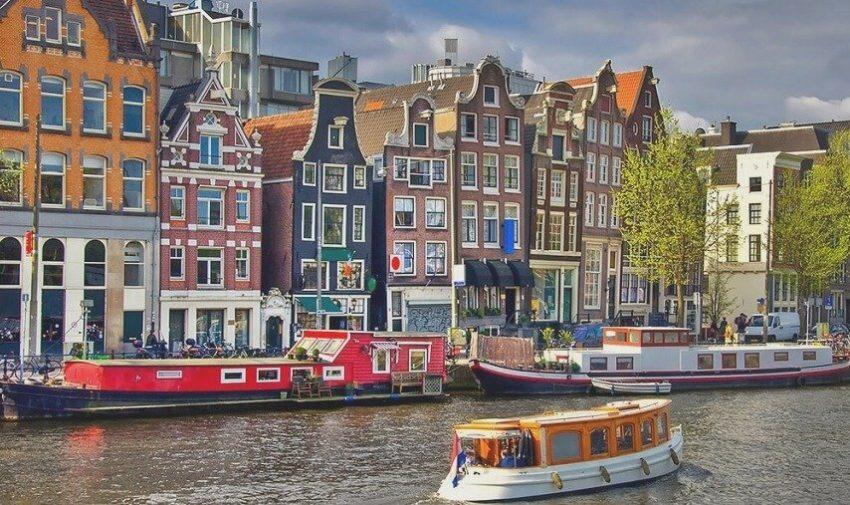 Город Амстердам, Нидерланды