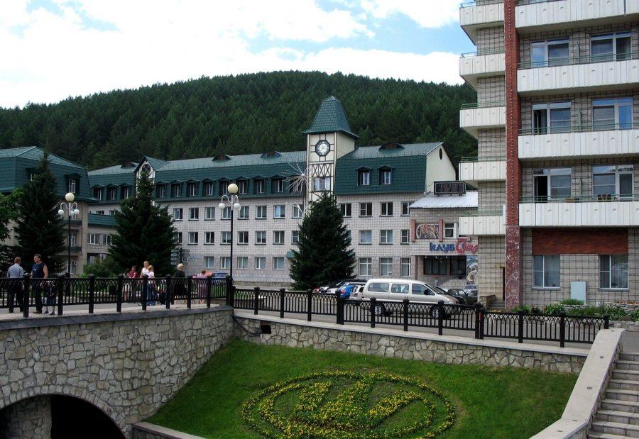 Санаторий в городе Белокуриха Алтайского края