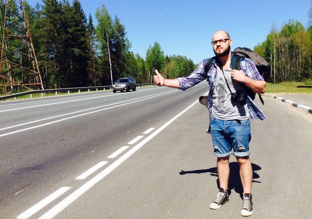Ловить машину для путешествия