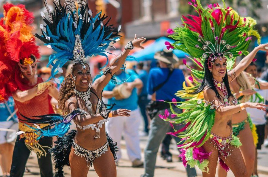 Бразилия страна для танцующих