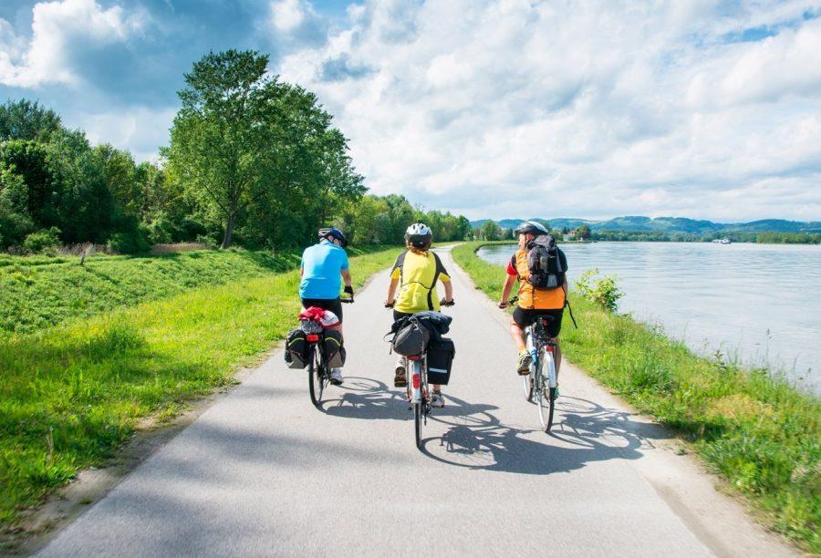 На велосипеде по берегу Дуная через Австрию, Германию. Венгрию и Словакию