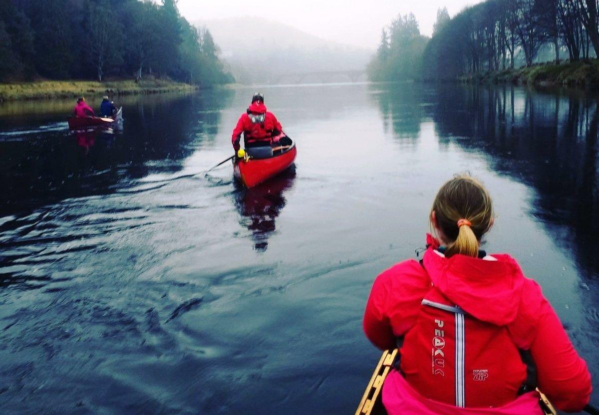 Туризм на веслах по Шотландии