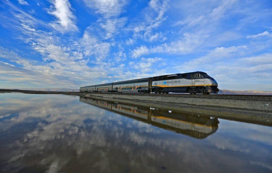 Поехать на поезде в Калифорнию