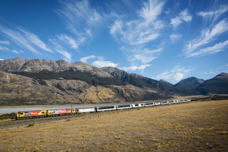 Новая Зеландия на поезде